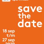 Nationale Sportweek vrijdag 18 - zondag 27 september a.s.