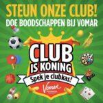 Supermarkt Vomar Club is Koning actie - scan de unieke code en doe mee!!